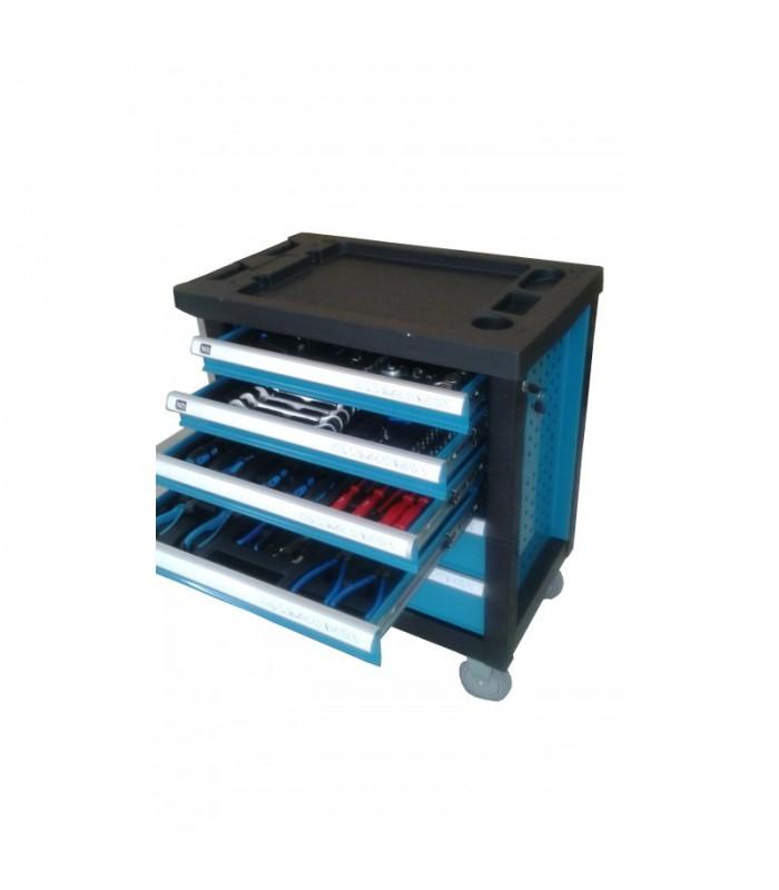Метален шкаф с инструменти 157 части