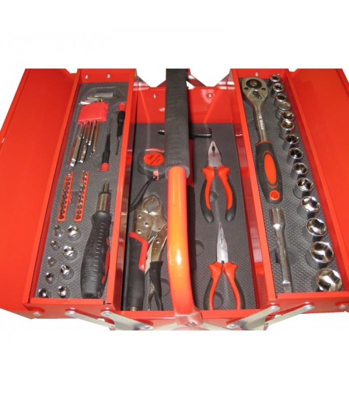 Кутия с инструменти 64 части
