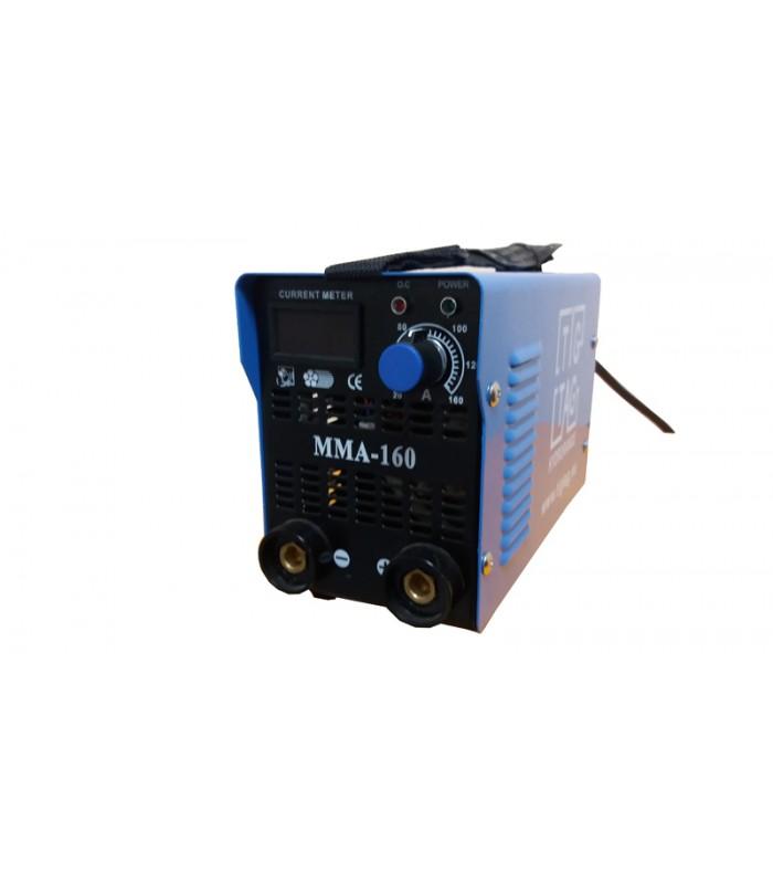 Инверторен електрожен ММА-160 мини с дигитален дисплей