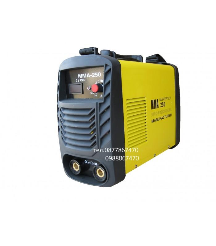 Инверторен електрожен MMA-250
